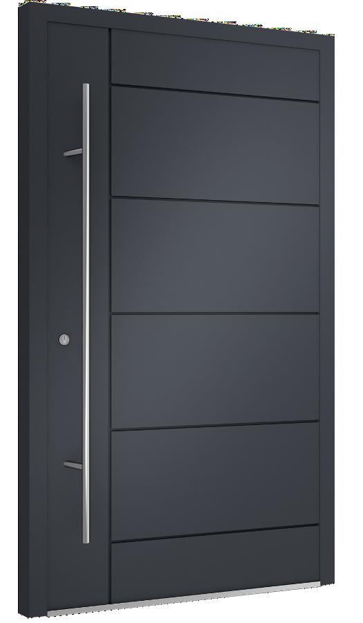 Drzwi wejściowe aluminiowe